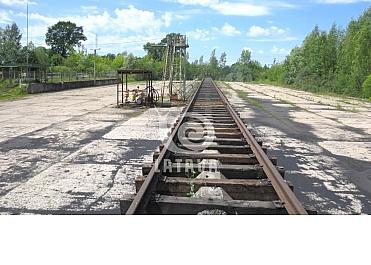 Parduodama veikianti geležinkelio atšaka