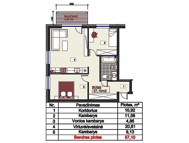 Šilti ir kokybiški butai Užliedžiuose 5
