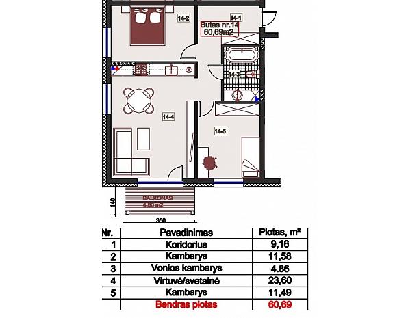 Šilti ir kokybiški butai Užliedžiuose 8