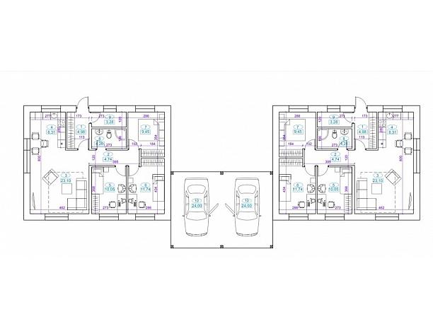 A+ klasės kompaktiški namai Aleksote 4