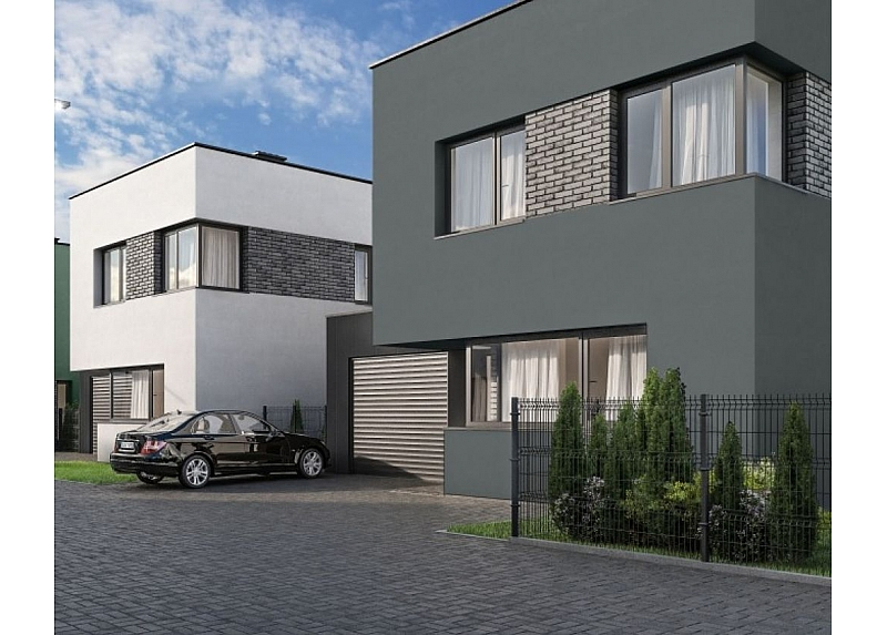 Pilnai įrengtas kotedžo tipo namas su garažu Vytėnuose